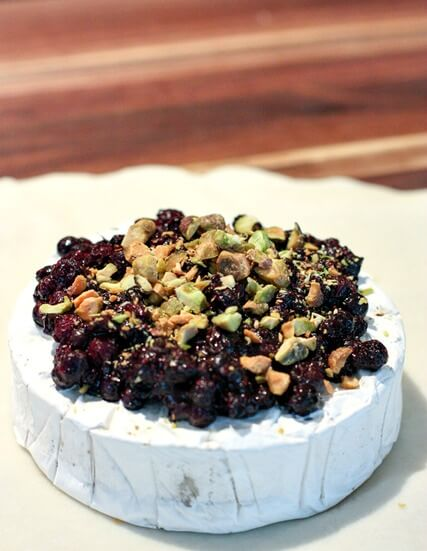 Wild Blueberry Baked Brie Picture