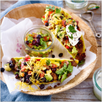 Fiery Tacos with Wild Blueberry Salsa Picture