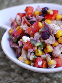 Wild Blueberry Super Bowl Sunday Salsa Picture