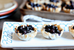 Wild Blueberry & Brie Pastry Bites Picture