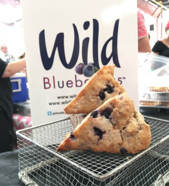 Wild Blueberry Scones Picture
