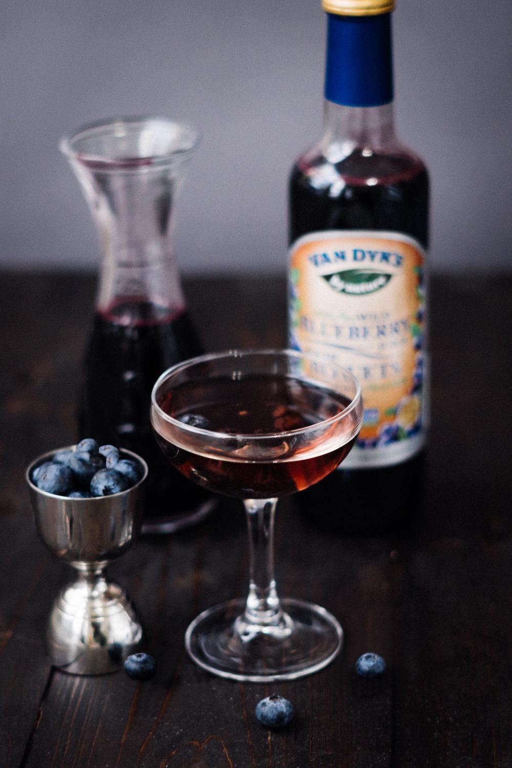 Wild Blueberry Martini Picture