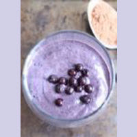 Wild Blueberry Chocolate Smoothie Picture
