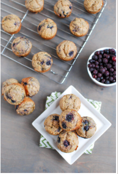 Wild Blueberry Mini Muffins Picture