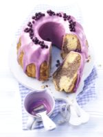 Wild Blueberry Marble Cake Picture
